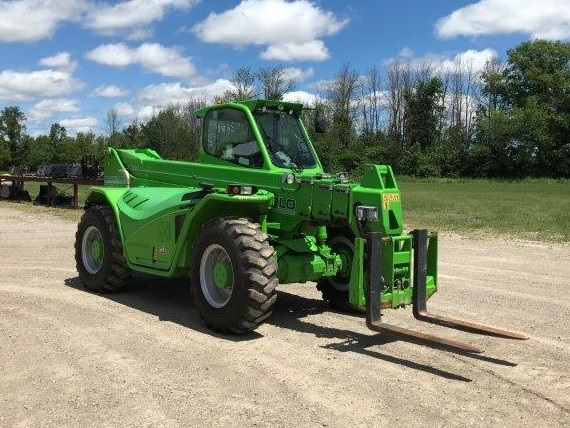 2017 MERLO PANORAMIC 50.18HM TELEHANDLER AND FORKS