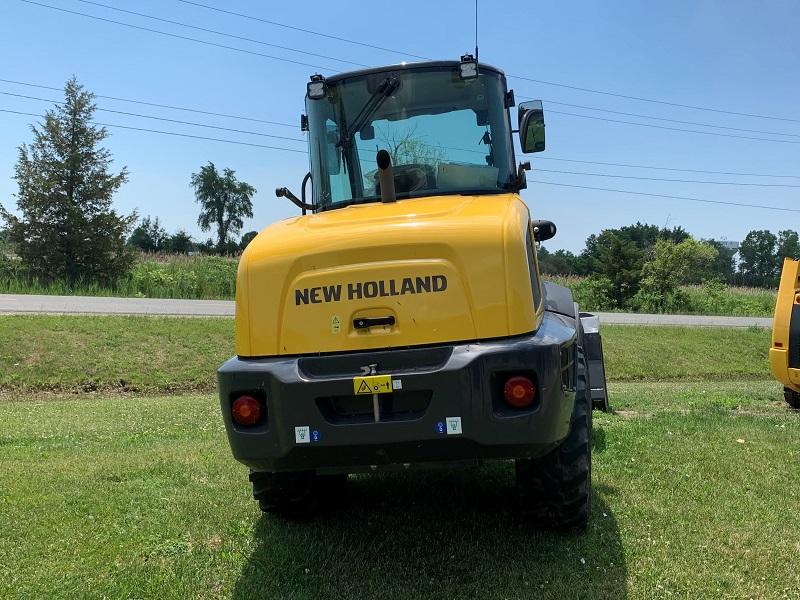 2019 NEW HOLLAND W80C HS COMPACT WHEEL LOADER