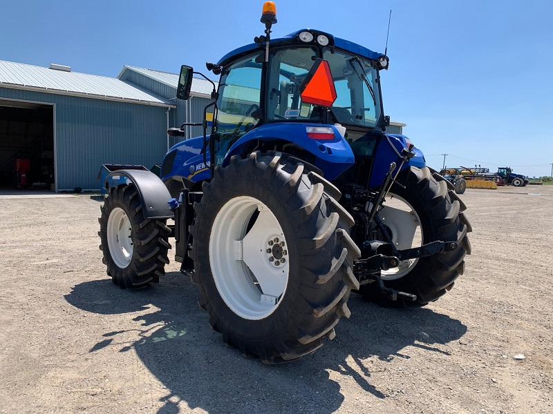 2017 NEW HOLLAND TS6.120 TRACTOR