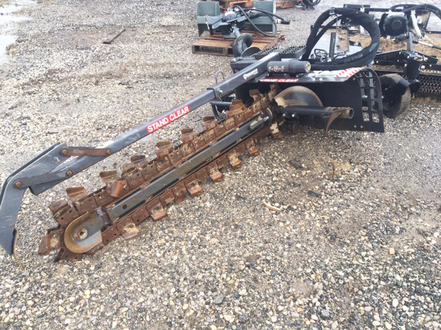 2016 BRADCO/PALADIN 640 TRENCHER - SKID STEER MOUNT