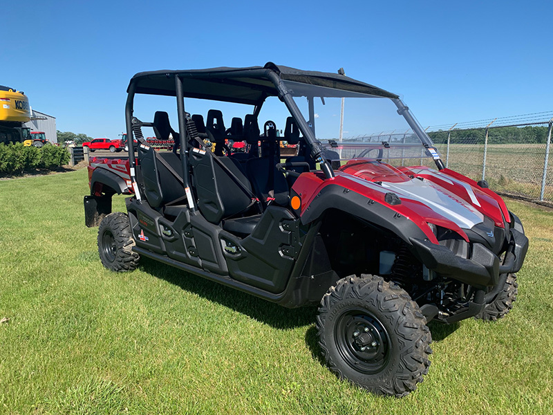 2020 YANMAR LONGHORN 6 PASSENGER UTILITY VEHICLE - RED
