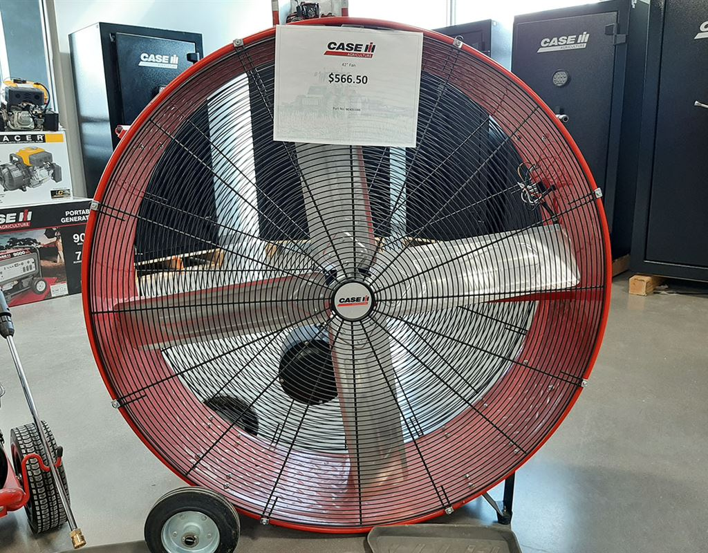 42 INCH CASE IH DRUM FAN