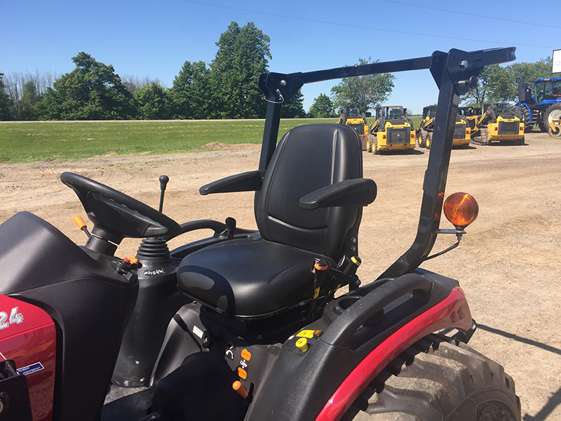 2020 YANMAR SA424 TRACTOR WITH LOADER AND MOWER