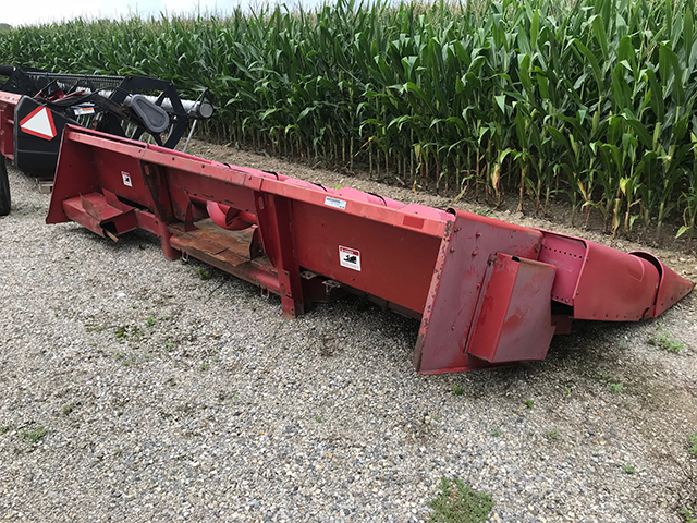 1996 CASE IH 2144 COMBINE AND HEADS