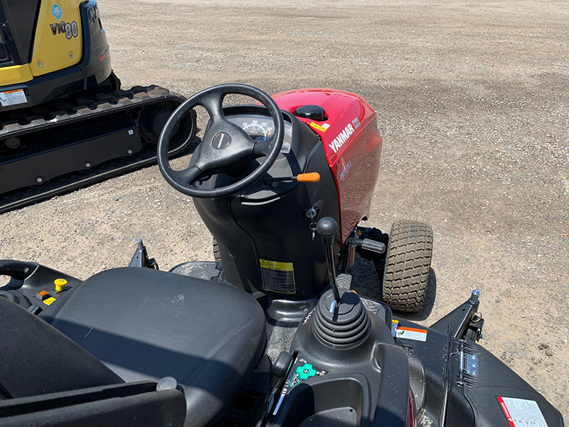 2020 YANMAR SA221 COMPACT TRACTOR WITH 60 INCH MID MOUNT MOWER