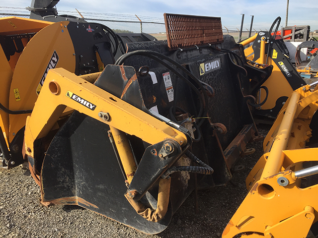 2013 EMILY 2.5M MOBILE ROTO DEFACER BUCKET